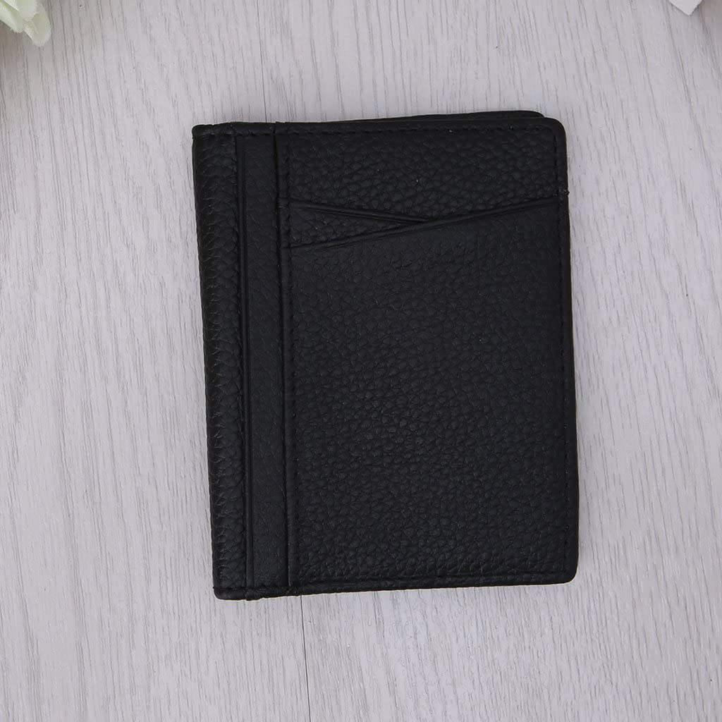 SimpleLif Credit Card Holder Leather Wallets ID Business Case Purse for Men