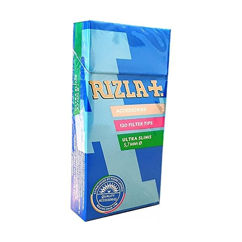 Rizla filtri ultraslim 5,7 mm 20 astucci da 120 filtri filter tips