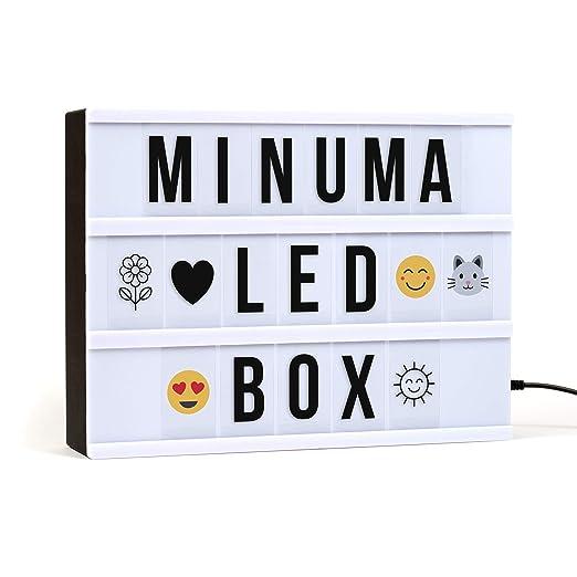 Minuma® LED Cinema Lightbox | Caja de luz en tamaño A4 con ...