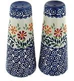 Polish Pottery Garden Bouquet Salt & Pepper Shakers
