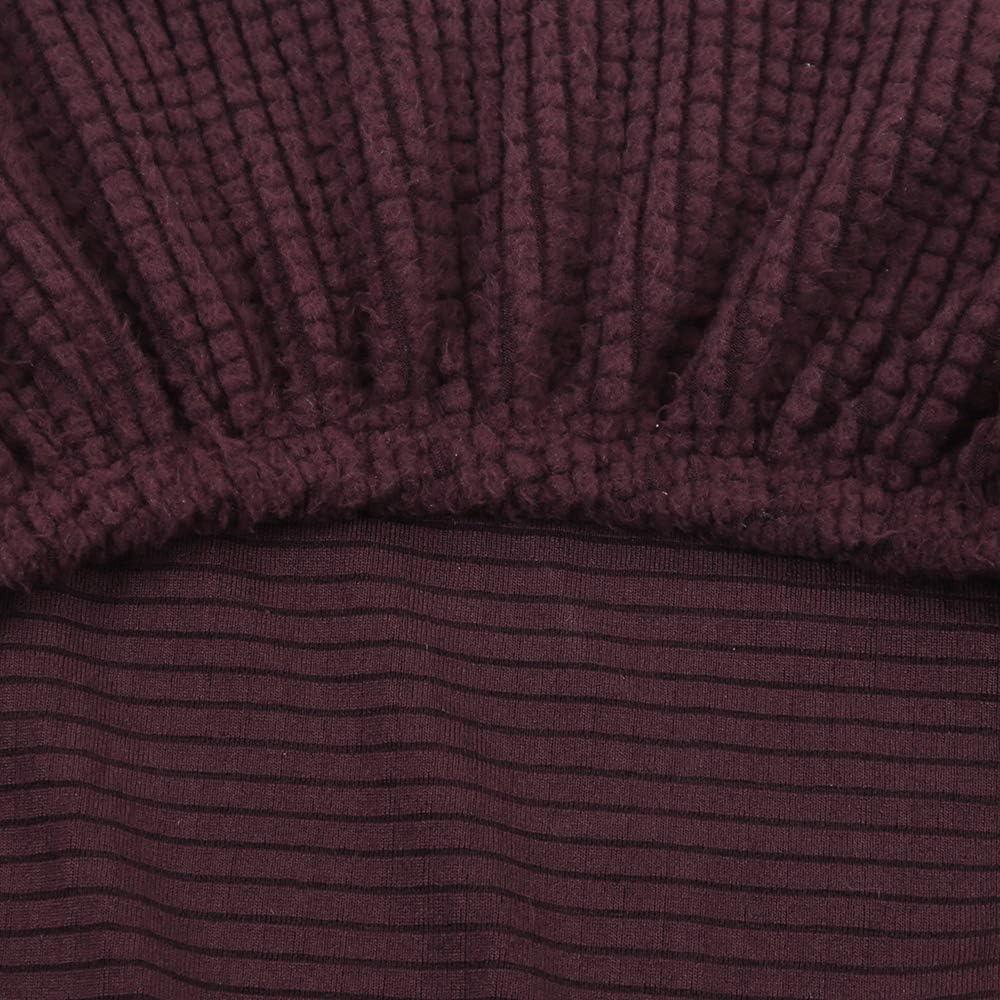 Beige,1 Pieza SearchI Fundas de Sillas Comedor El/ástico XL,Jacquard Cubiertas de Sillas Comedor,Extra/íbles y Lavables,Moderna Fundas Protectoras para Sillas Comedor,Cocina,Restaurante,Hotel