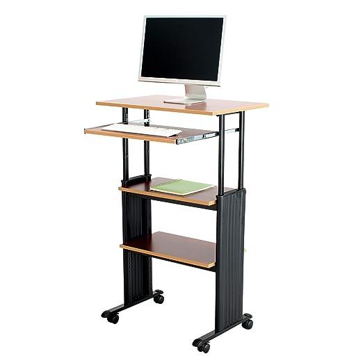 Safco Muv - Mesa de Ordenador Vertical de Altura Ajustable, Color ...