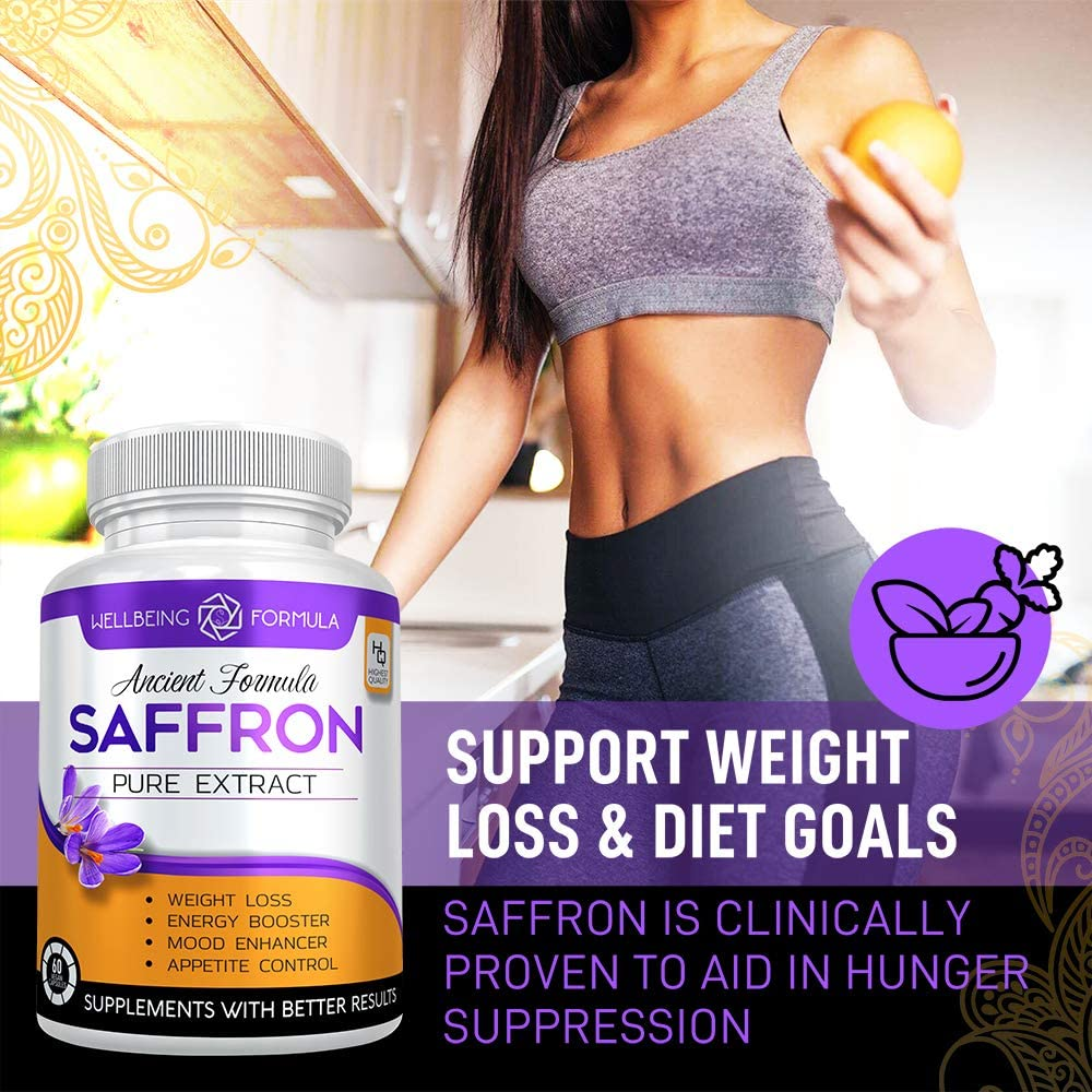 Pure Saffron Extract For Healthy Weight Loss Natural Appetite