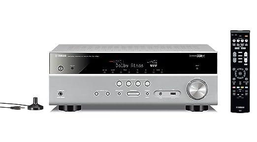 14 opinioni per Yamaha MusicCast RX-V581 Sintoamplificatore AV 7.1, Argento