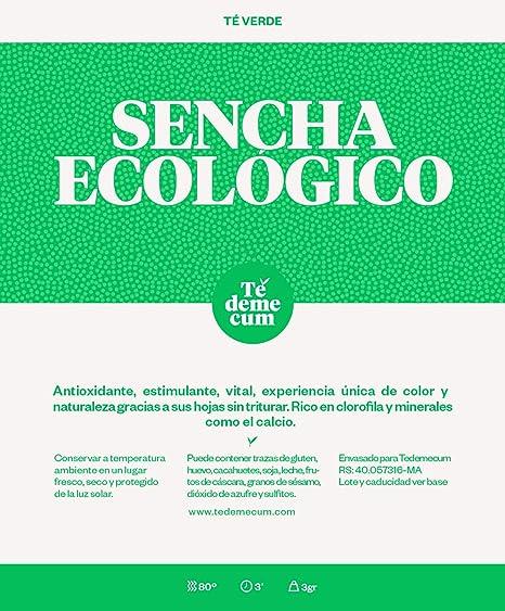 Té verde SENCHA ECOLOGICO Gourmet 50gr.