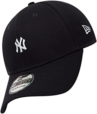 New Era 39THIRTY New York Yankees Baseball Cap - Mini Logo Essential - Navy  Medium Large  Amazon.co.uk  Clothing fc80e04a0277