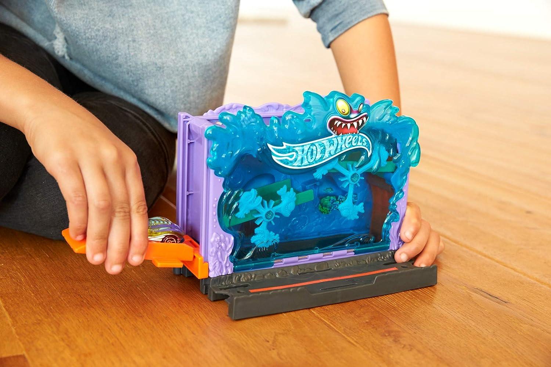Hot Wheels City Pista de coches Aquarium (Mattel FRH32): Amazon.es: Juguetes y juegos