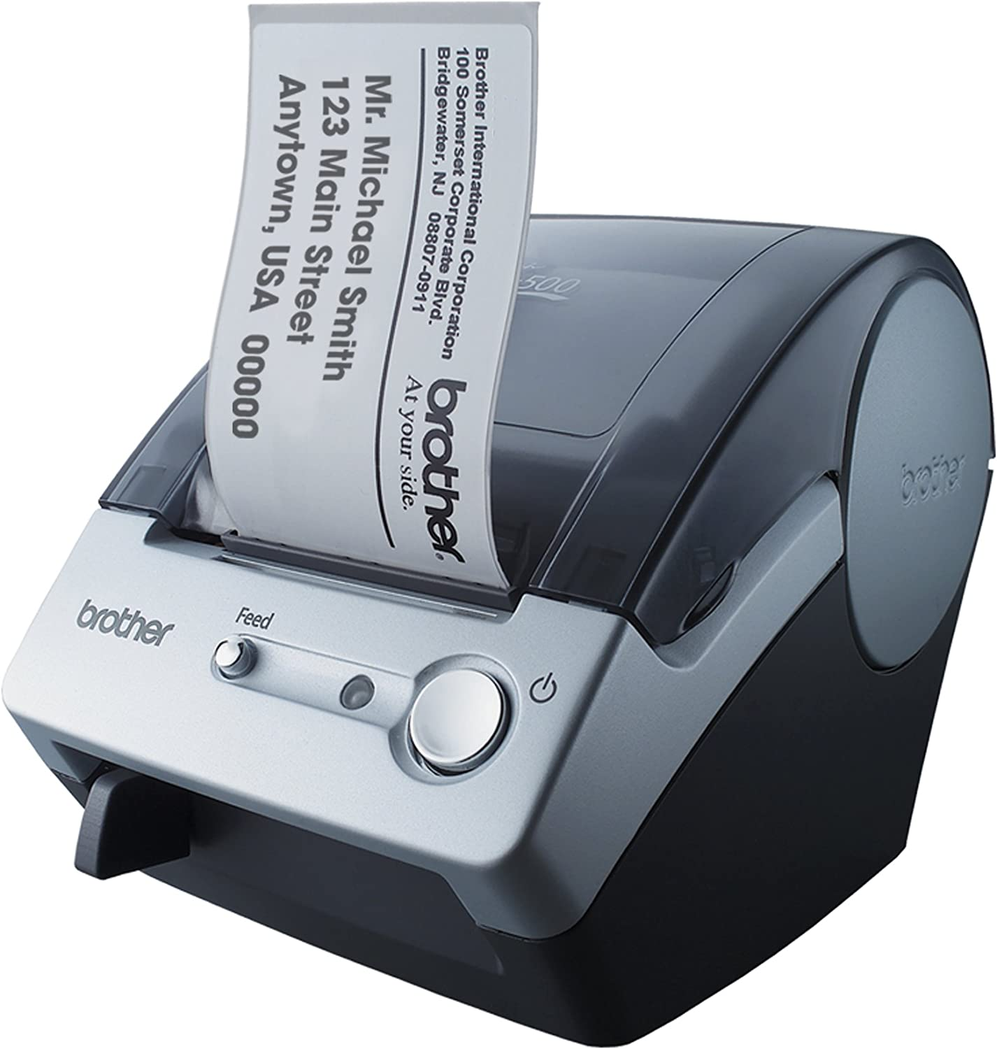 Brother P-Touch QL-500 Manual-Cut PC Label Printing System : Label Makers : Office Products