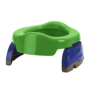 Kalencom Potette Plus 2-in-1 Travel Potty Trainer Seat Green
