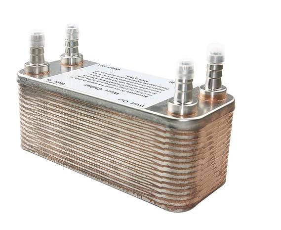 Placa de acero inoxidable para cambiar el calor y enfriar las manchas, enfriador de platos, cobre, B3-012A-40-Model: Amazon.es: Bricolaje y herramientas