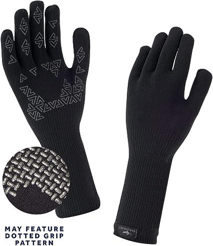 Black Seal Skinz Ultra Grip Waterproof Glove XL