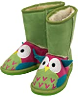 Owl Toasty Toez Kids Boots - X-Small