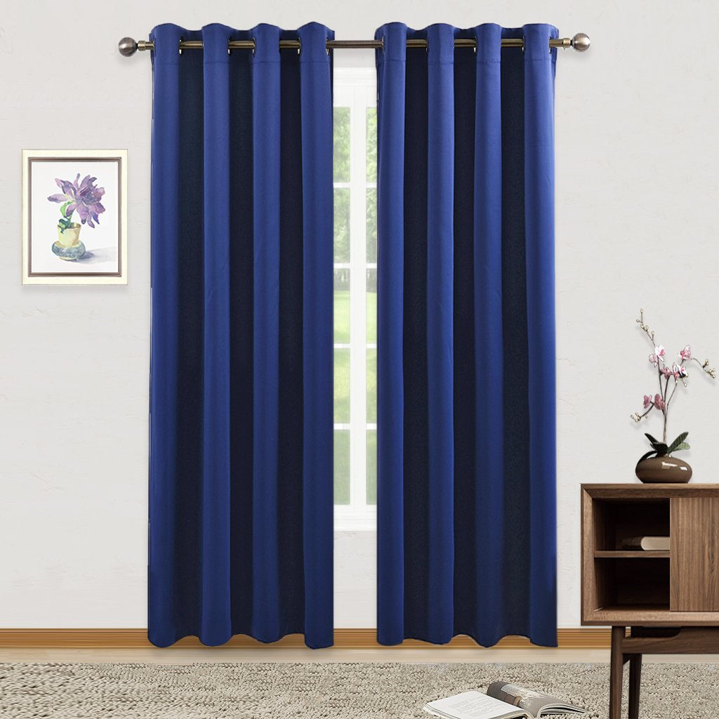 Blackout curtains for bedroom - Blackout Curtains For Bedroom Window Pony Dance Thermal Insulated Curtain Panels Heavy Duty Drapes And Draperies For Nursery Room 52 Inch Wide By 84 Inch