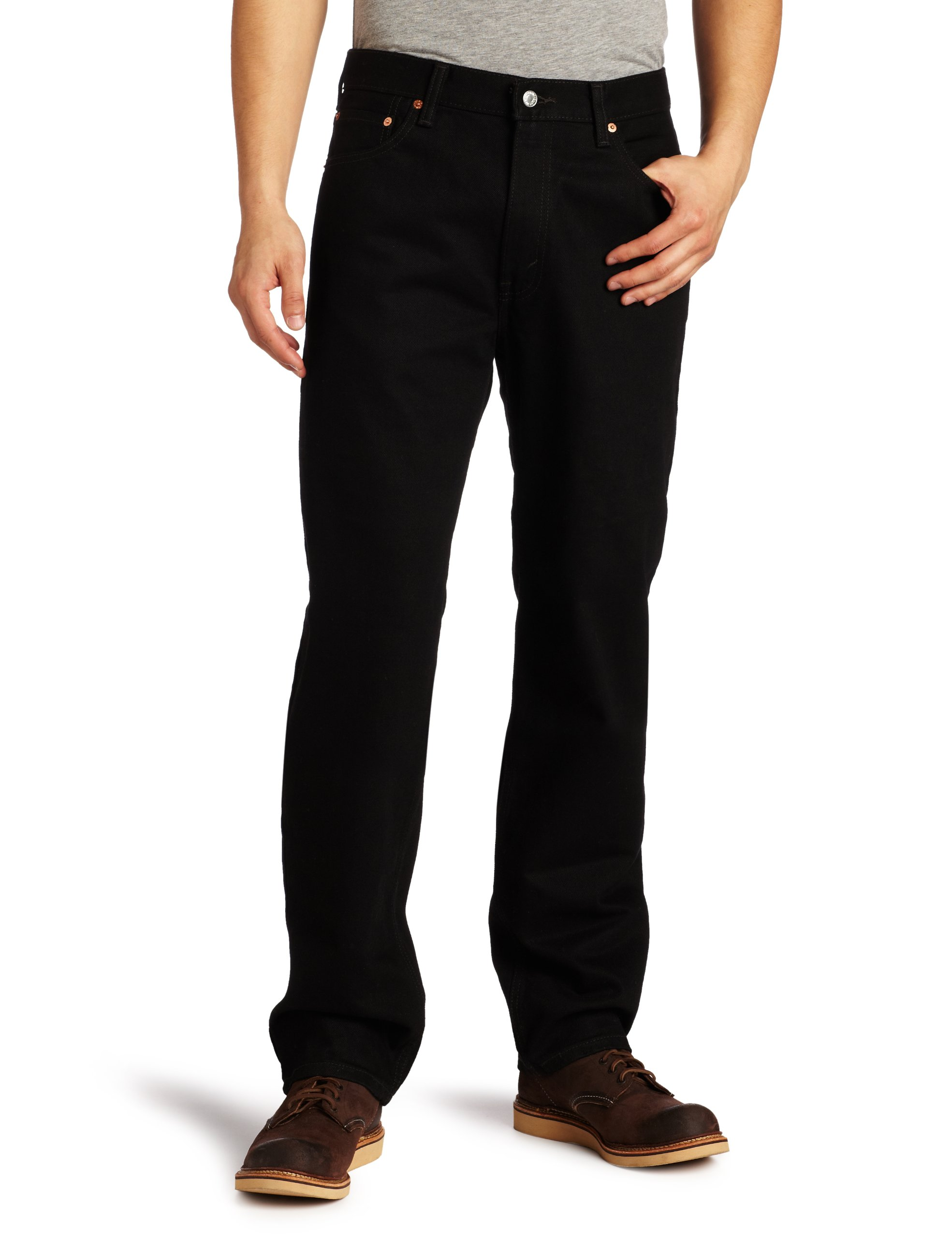 Levi's Men's 550 Relaxed-fit Jean, Black, 32X36