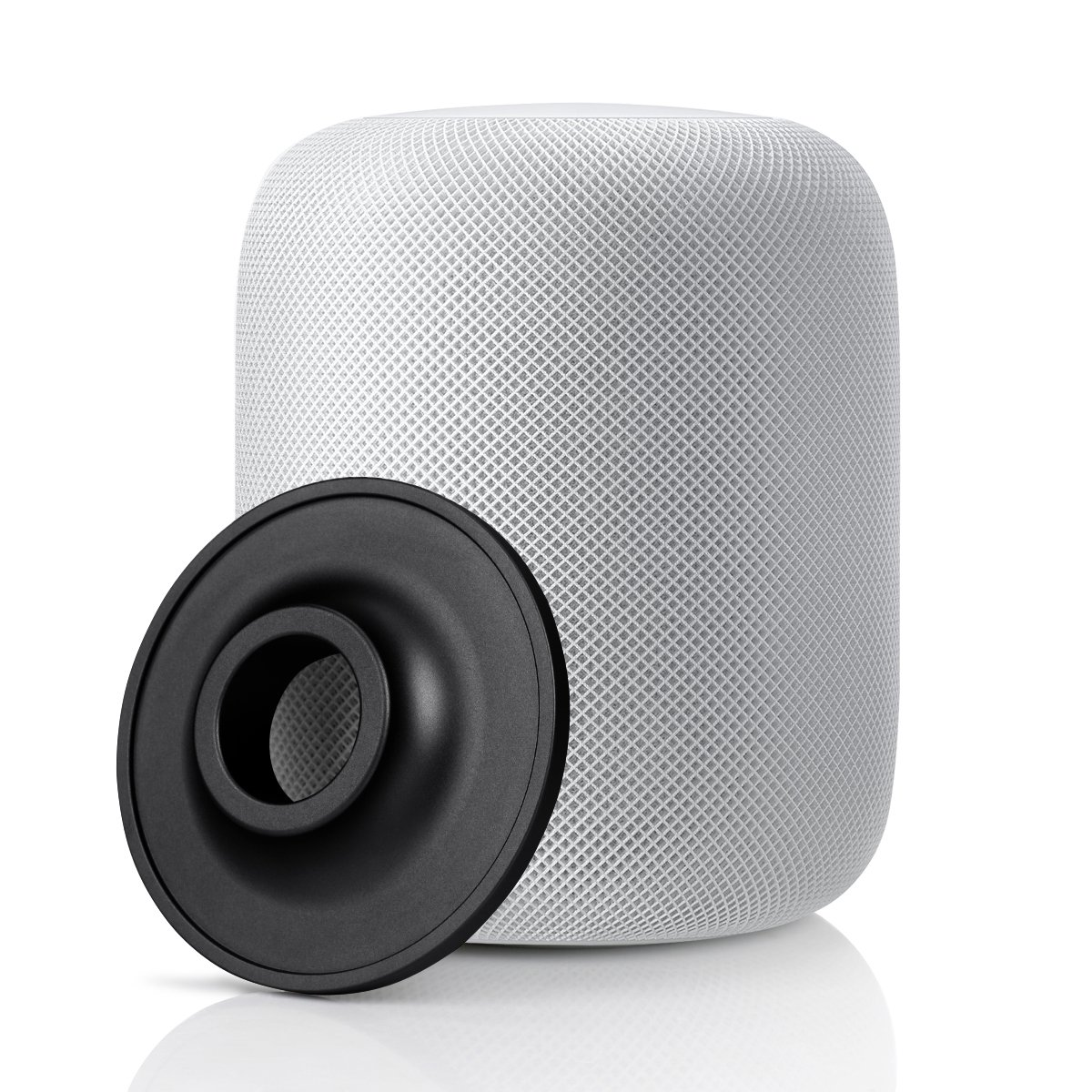 Circle Compatible Apple HomePod Stand, Stainless Steel Stand for Apple HomePod Speaker (Black)