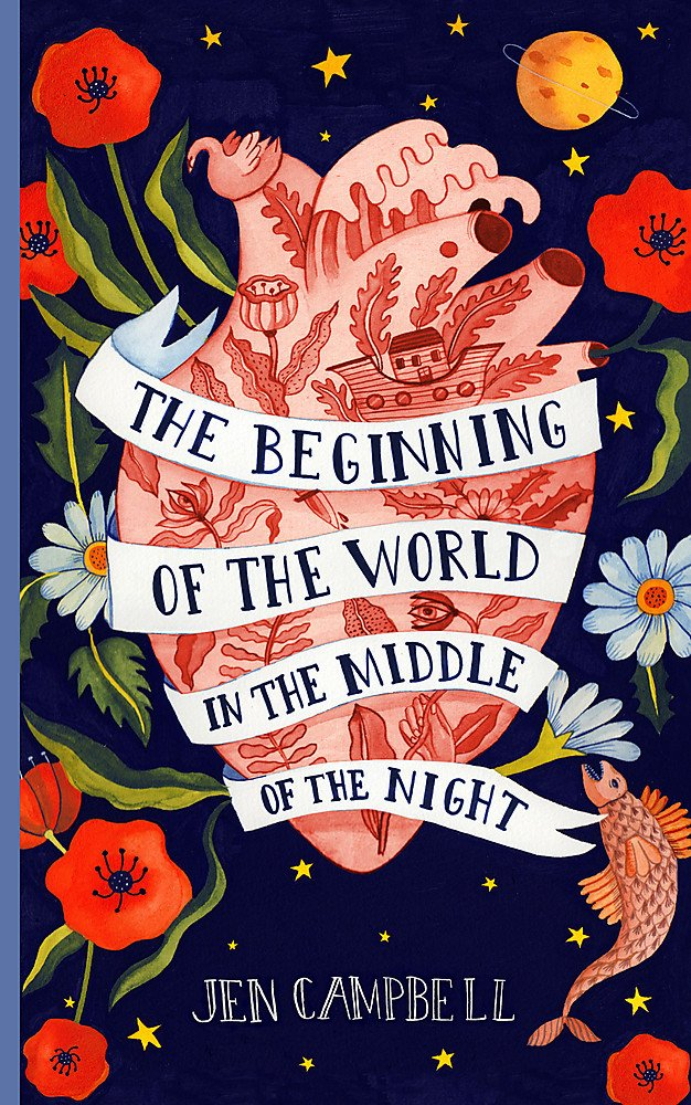 Image result for beginning of the world in the middle of the night cover
