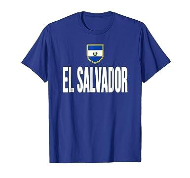 95ca096a9 Mens El Salvador T-shirt Flag Soccer Football Futbol Fan Jersey 2XL Royal  Blue