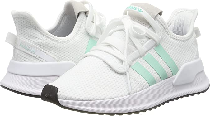 adidas U_Path Run W, Zapatillas de Running para Mujer, FTWR G27649-Bolígrafo de Tinta líquida, Color Blanco y Verde Menta, 36 2/3 EU: Amazon.es: Zapatos y complementos