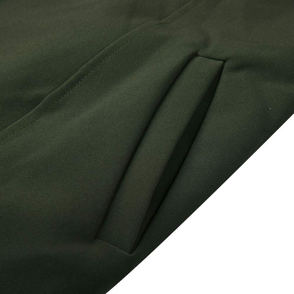 TOOPOOT Women's Cardigan,Ladies Open Front Long Sleeve Waterfall Collar Irregular Trench Coat by TOOPOOT-Coat (Image #6)