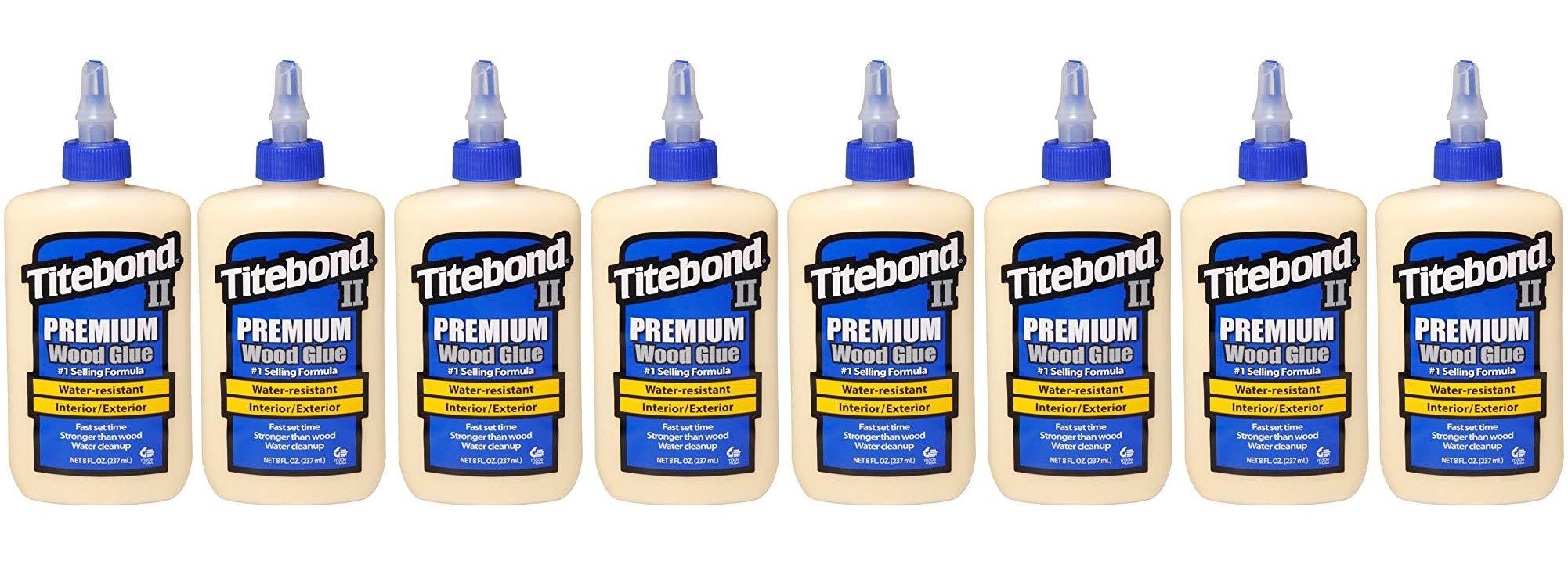 Titebond 5003 II Premium Wood Glue, 8-Ounces (Еіght Рack)