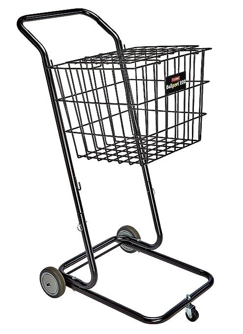 Tourna Ballport 200 Deluxe Dolly Cart Ball Hoppers