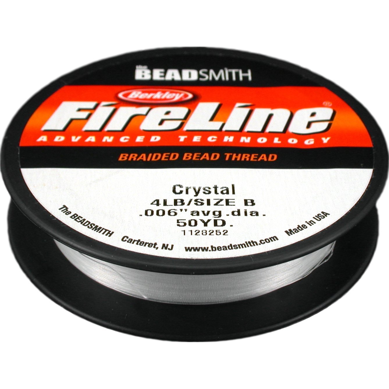FireLine Braided Bead Thread, 0.006-Inch, Crystal Clear FL04CR50