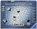 Rompecabezas Ravensburger Krypt Silver de 654 piezas en blanco para adultos - Cada pieza es única, tecnología Softclick...