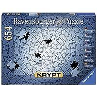 Ravensburger Krypt Silver - 654 pc Blank Puzzle Challenge