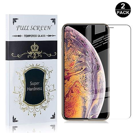 SONWO Protector Pantalla iPhone 11 Pro Max 6.5, HD Protector ...