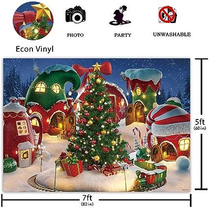 Funnytree Fotohintergrund Motiv Weihnachtsdorf 2 2 X Kamera