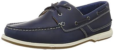 161c7bc6f7 Clarks Herren Fulmen Row Bootsschuhe, Blau (Navy Leather), 39.5 EU (6