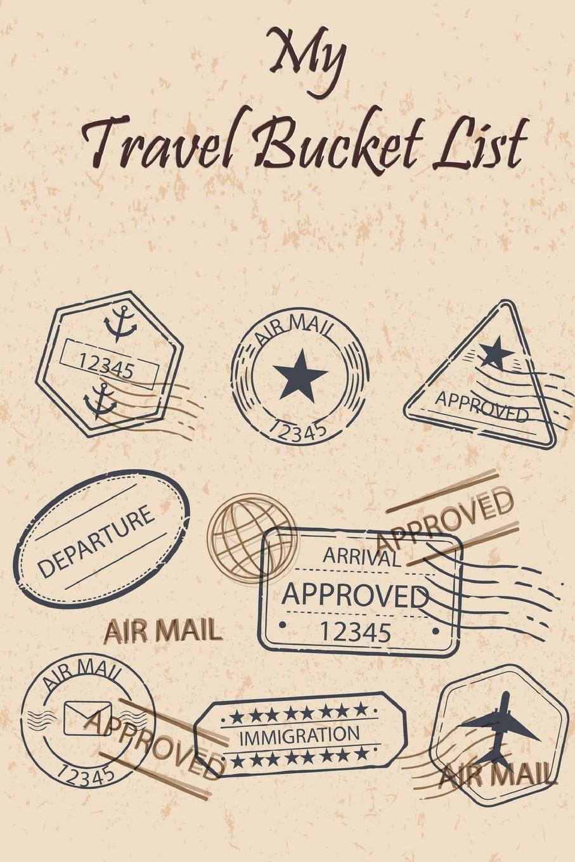 My Travel Bucket List Creative My Travel Bucket List Book For