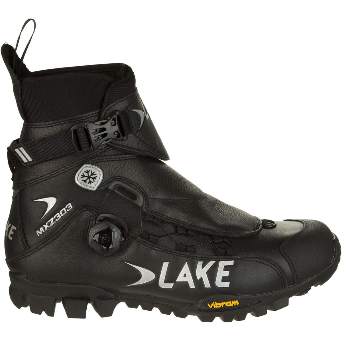 Lake MXZ 303 Winter Boots Black, 44.0 - Men's