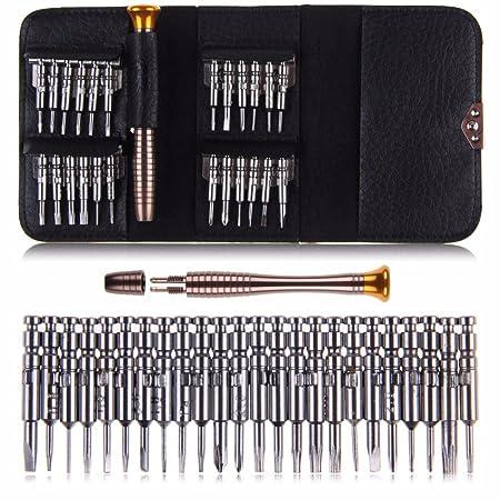 HSR 25 in 1 Precision Screwdriver Set Multi Pocket Repair Tool Kit
