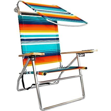 Phenomenal Canopy Hi Seat Aluminum Beach Chair Interior Design Ideas Pimpapslepicentreinfo