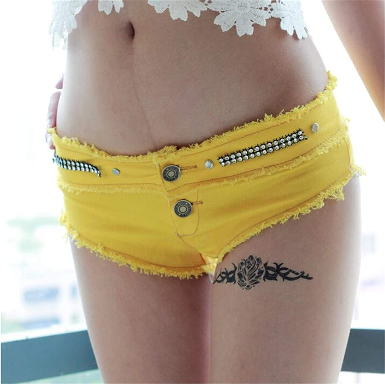 WLITTLE Summer Womens Denim Shorts Hot Pants are Short