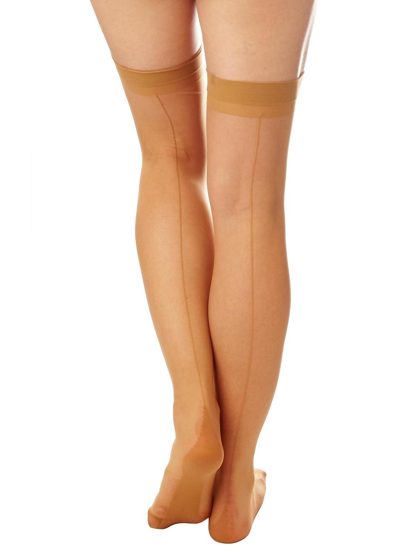 efcf37582 Cette Berlin Women s Suspender Stockings  Amazon.co.uk  Clothing