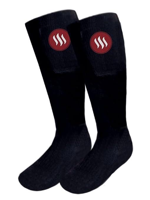 Glovii Calor Control Térmica Thermoactive Batería Climatizada Calcetines Con Control Remoto, RopaTécnica Interior De Esquí