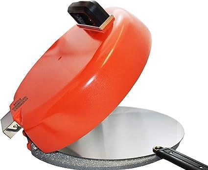 Campana para pizza – Doble Cocción – Única en su género – Aluminio y Acero Inoxidable