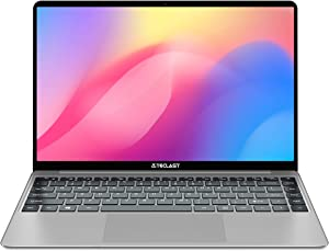 TECLAST F7S 14.1 Inch 7mm Ultra Thin Windows 10 Laptop,1920x1080 Full HD Screen,Intel N3350 1.1-2.4 Ghz CPU 8GB RAM 128GB ROM Support TF Card & M.2 slot(2242/2248) Expansion,Full Size Keyboard,USB 3.0