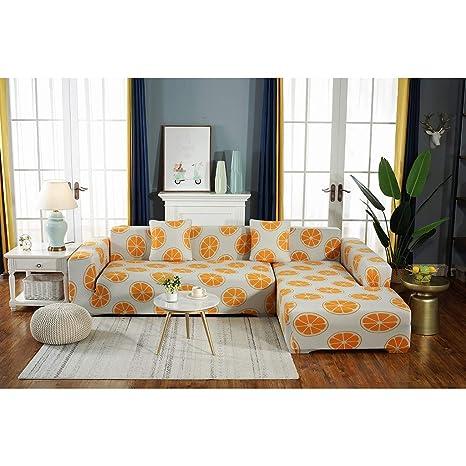 Gxzdfdztygh Funda de sofá elástico de Color sólido for sofá ...