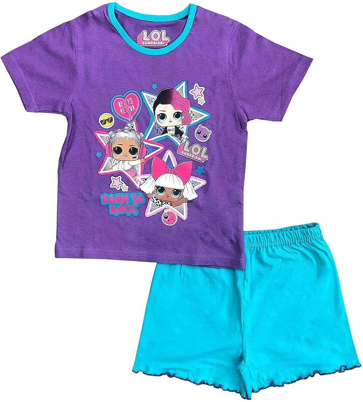 Girls Official Arsenal Pyjama Set Pink Age 5-6 New