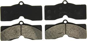 Wagner QuickStop ZX8 Semi-Metallic Disc Pad Set, Front