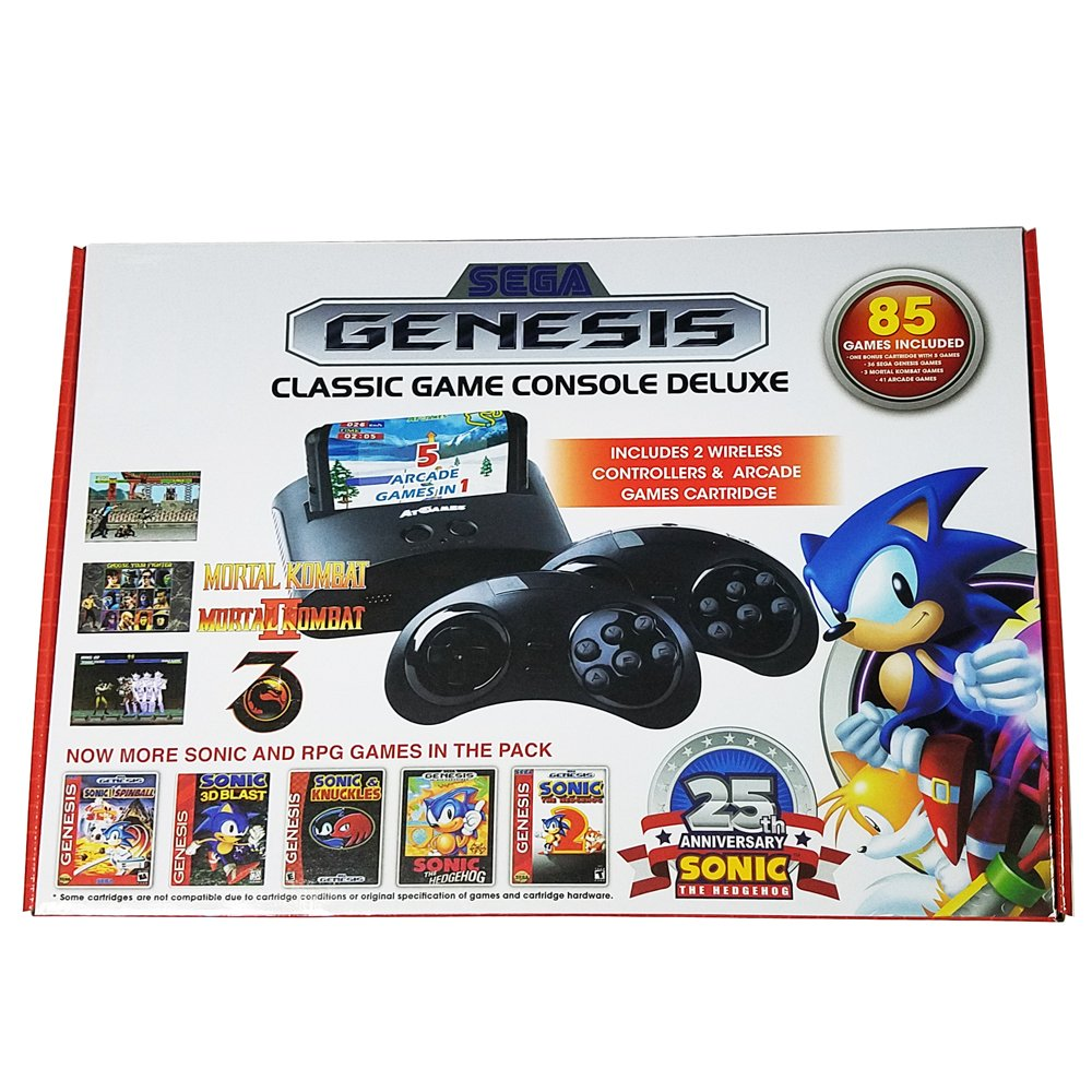 Sega Genesis Classic Game Console Deluxe (2016) 85 Games. by At Games (Image #1)