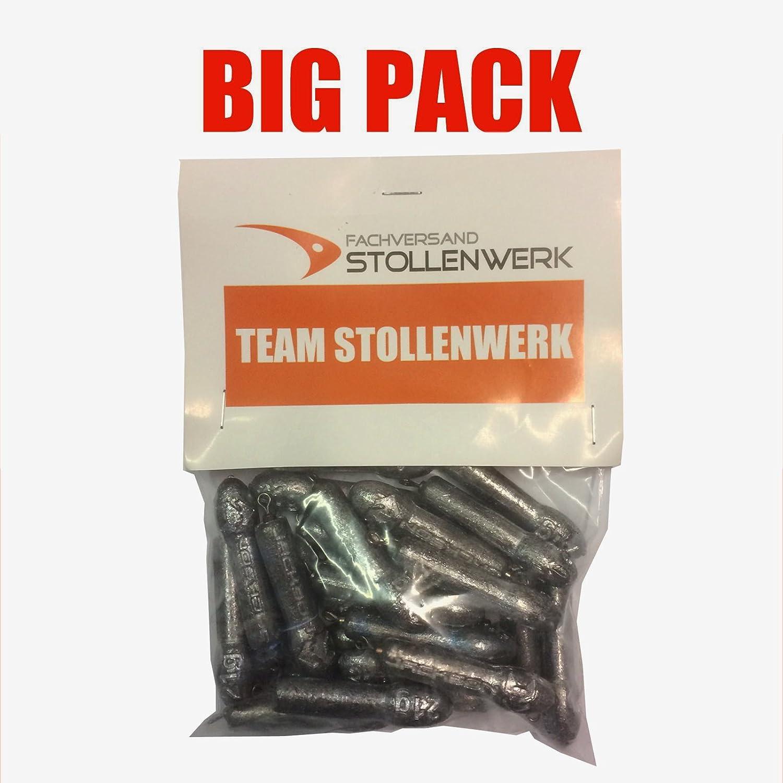Team Stollenwerk Angelblei Weitwurf Big Pack 24,0g 25 Stück