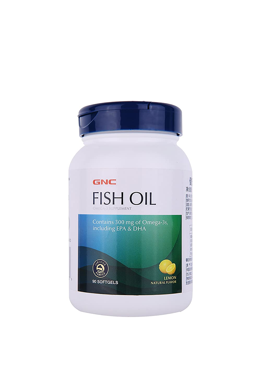 Amazon.com  GNC Fish Oil 90 Softgel caps  Health   Personal Care b3b4176b679