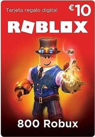 Tarjeta Regalo De Roblox 800 Robux Amazon Es Videojuegos