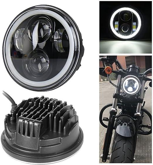 Neue Typ 5 75 5 3 4 Zoll Led Scheinwerfer Engel Augen Für Halo Motorrad Ein Jahr Garantie Auto