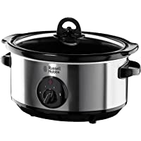 Russell Hobbs Slow Cooker, 3.5L, Silver, 19790