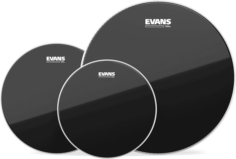 Tompack Evans Black Chrome, Rock (10 pulgadas, 12 pulgadas, 16 pulgadas)